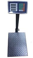 Весы торговые электронные напольные CRYSTAL на 300 кг усиленные (55500991)
