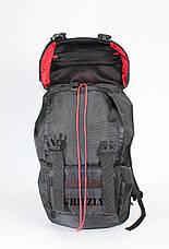 Походный рюкзак GRIZZLY черный, фото 3
