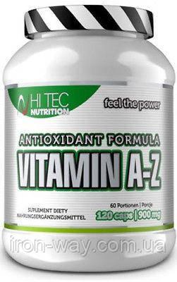 Hi Tec Vitamin A-Z Antioxidant 120 caplet