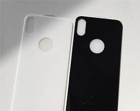 Защитное стекло 4D Back для iPhone X (на заднюю крышку)