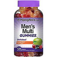 Piping Rock Men's Multi Gummies 120 Gummies, фото 1