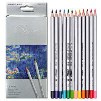 """Цветные карандаши Raffine 12 цветов №7100-12CB """"MARCO"""" (металлизированные) (уп12\240)"""