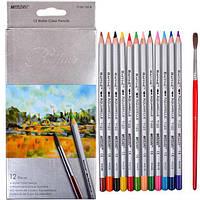 """Цветные карандаши Raffine 12 цветов №7120-12CB """"MARCO"""" (акварельные) (уп12\240)"""