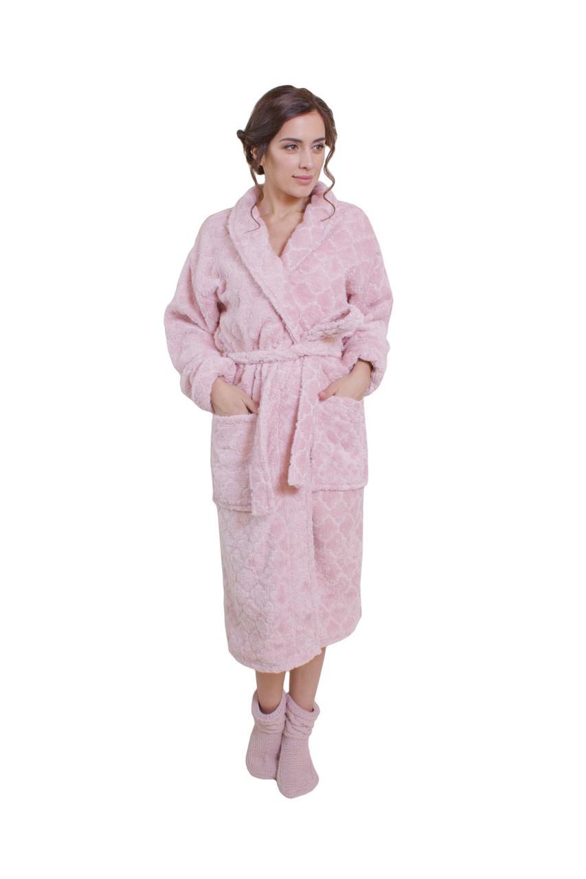 Халат бамбуковый розовый ТМ прованс