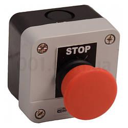 Пост кнопочный одноместный «СТОП» грибок XAL-B164Н29, АСКО-УКРЕМ