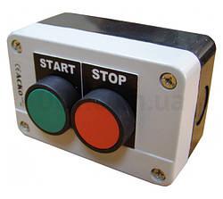 Пост кнопочный двухместный «ПУСК-СТОП» XAL-B211Н29, АСКО-УКРЕМ