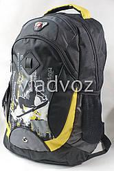 Школьный рюкзак для мальчиков Sport DFW чёрный