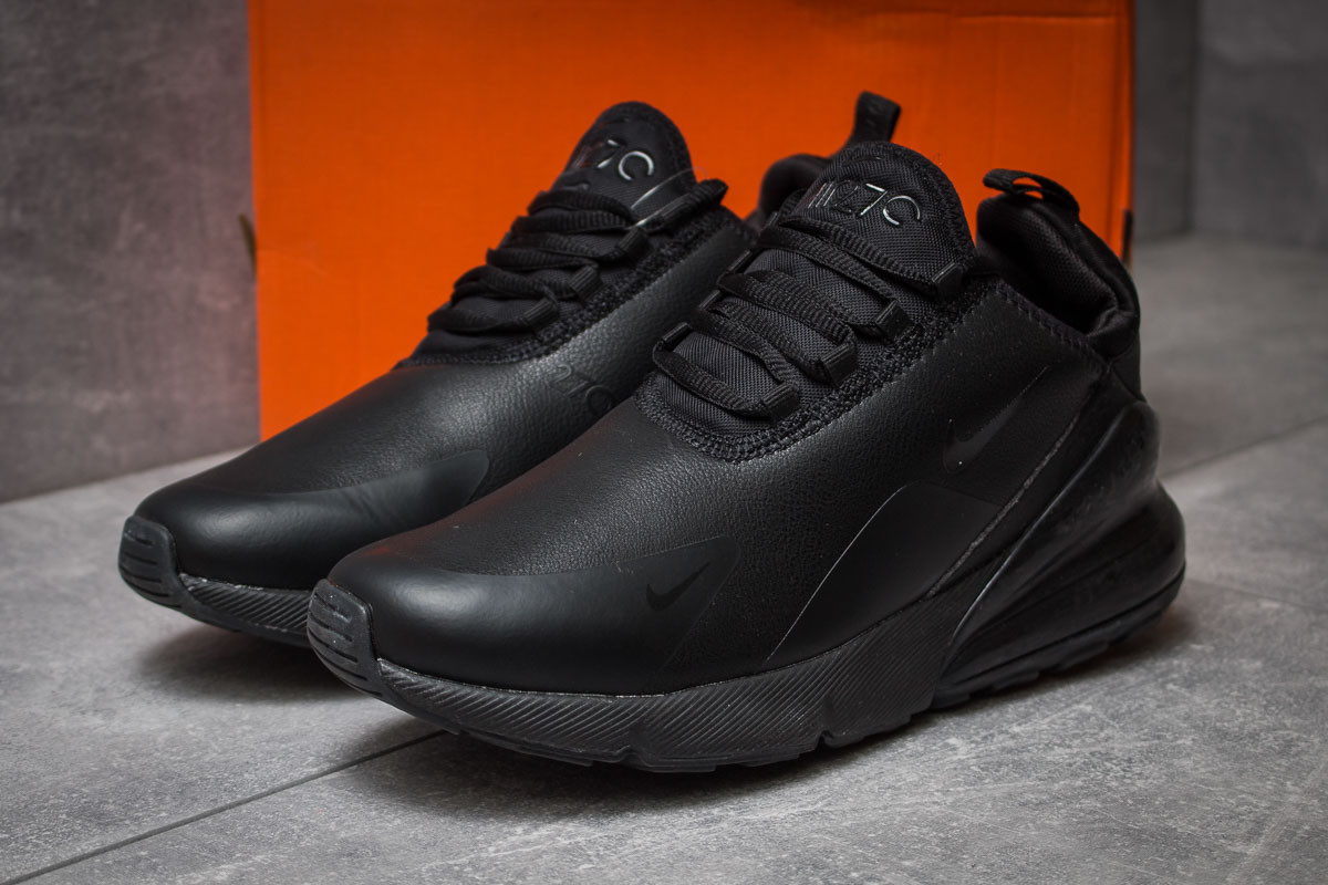 b37f8fbd Кожаные кроссовки Nike Air Max 270 черные: Кожаные кроссовки Nike ...