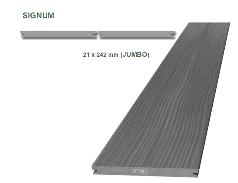Террасная доска MEGAWOOD Signum JUMBO (242 x 21), фото 2