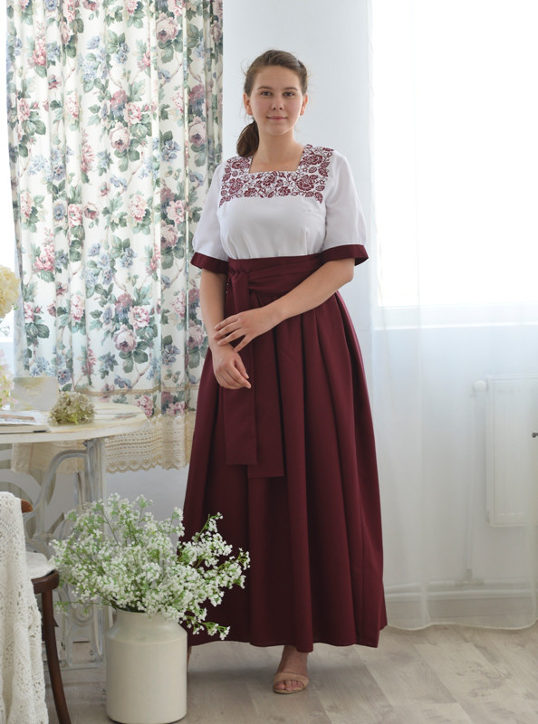 Жіноче плаття Святослава -