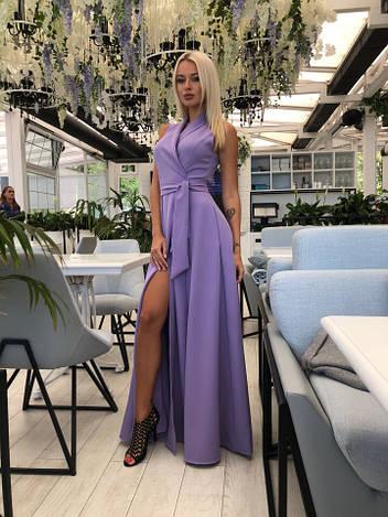 Длинное платье од322