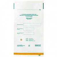 Крафт пакет МЕДТЕСТ белый  для стерилизации инструмента в сухожаре 100*200см