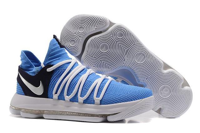 036b0dff3c58 Баскетбольные кроссовки Nike Zoom KD 10 SkyBlue White (в стиле Найк ...