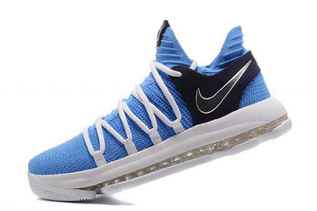3e053686ed64 Баскетбольные кроссовки Nike Zoom KD 10 SkyBlue White (в стиле Найк) 44 -