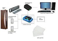 Система контроля и учёта рабочего времени  по карточкам