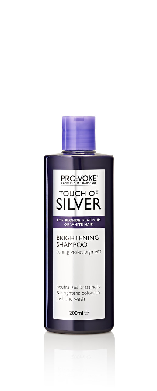 Тонирующий шампунь холодный блонд PRO:VOKE Touch of Silver Brightening Shampoo 200 ml