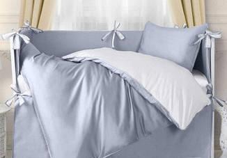 Элитное постельное бельё для новорожденных на круглые и прямоугольные кровати. Пошив под заказ.