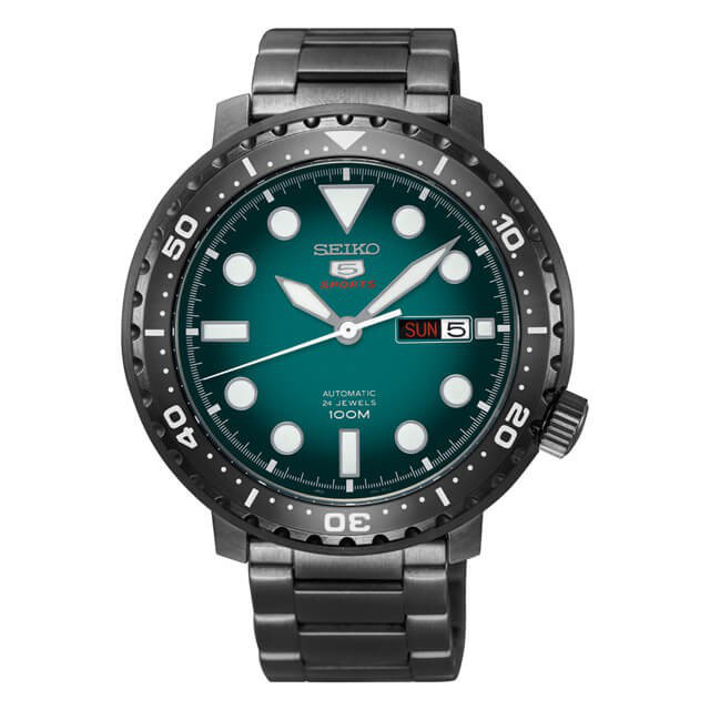 Часы Seiko 5 Sports SRPC65K1 Automatic 4R36 Bottle Cap