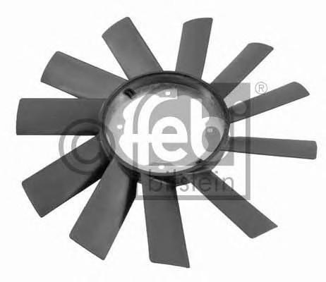 Крыльчатка вентилятора FEBI  BMW E-34 , E-30 , E-36 , E-12 , E-28 , E-