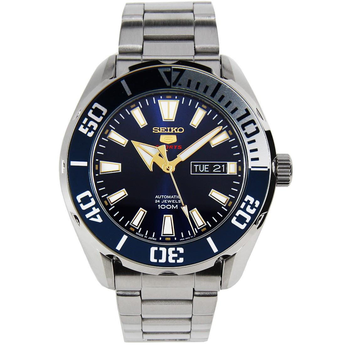Часы Seiko 5 Sports SRPC51K1 Automatic 4R36