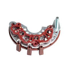 Диодный мост генератора Chevrolet Aveo 1,4-1,6/Lacetti (2конт) (95А) (VDB 0550) СтартВольт