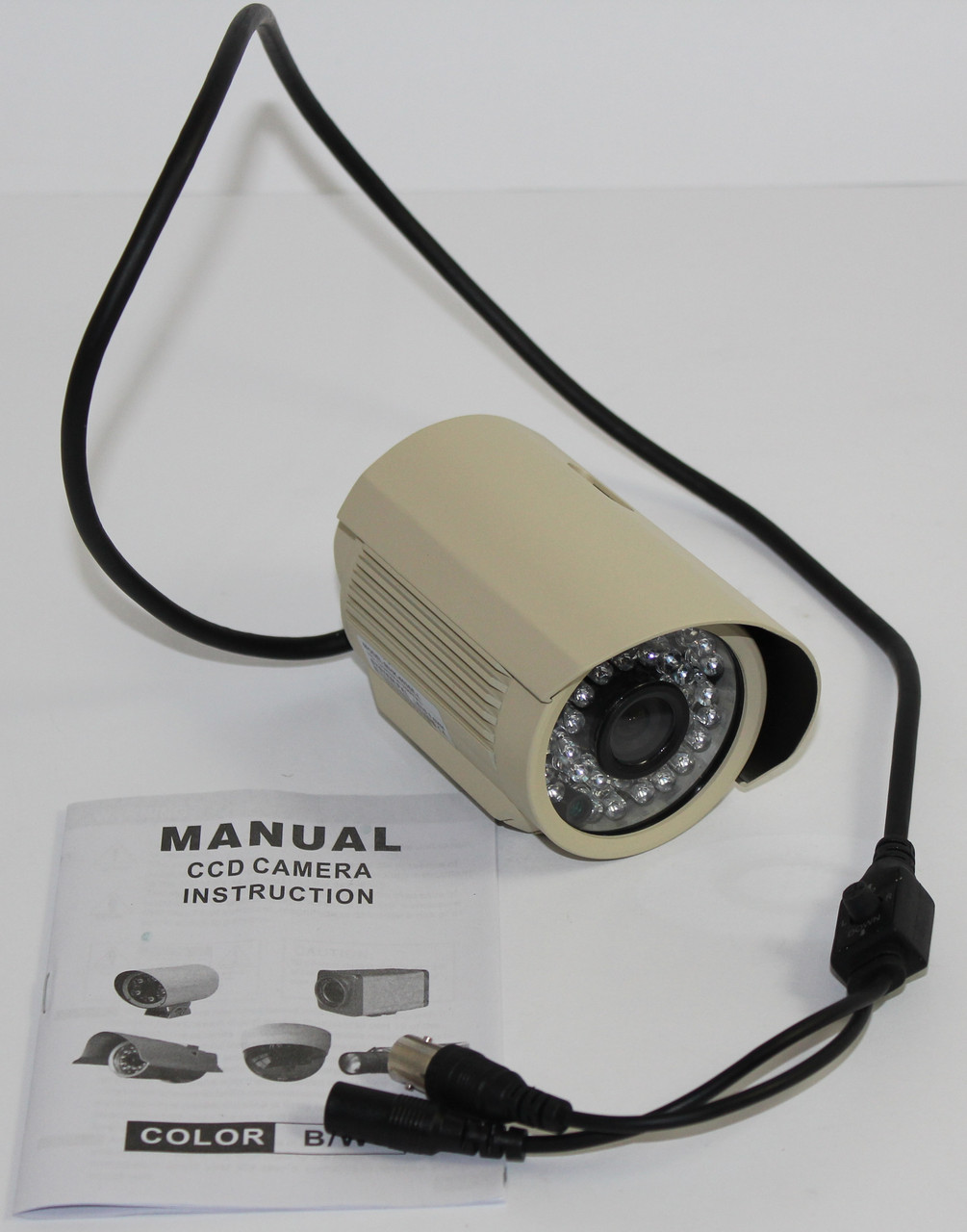 Камера наружного наблюдения слоновая кость (MHK-603SE-L)