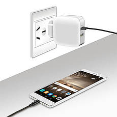 Универсальное зарядное устройство Suntaiho  5В 2.1А. White, фото 2