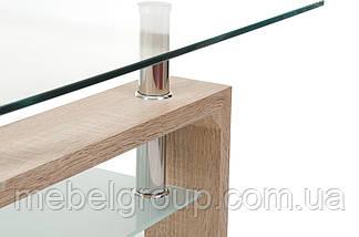 Стол журнальный С-107-2 белый дуб, фото 3