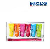 Набор Curaprox BE YOU ( 6 зубных паст по 10 мл + щетка Ultra Soft)