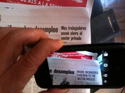Google Translate зможе перекладати текст з камери в режимі реального часу