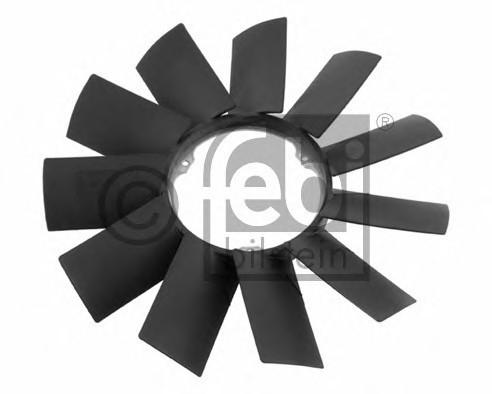 Крыльчатка вентилятора  FEBI  BMW E-34 , E-36 ,E-12 , E-28 , E-39, E-3
