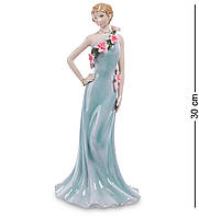 """Статуэтка Дама в вечернем платье """"Pavone"""" 30 см 105252"""