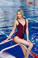 Спортивный купальник для бассейна с поддержкой груди (S/M)
