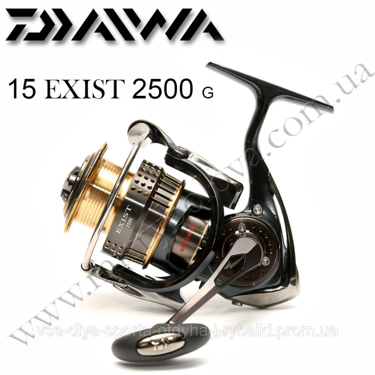 6ac3f6ab Катушка Daiwa 15 EXIST 2500: продажа, цена в Киеве. рыболовные ...