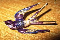 Шикарная брошь-  ласточка от студии LadyStyle.Biz, фото 1