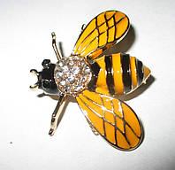 Хорошенькая брошь- пчелка   от студии LadyStyle.Biz, фото 1