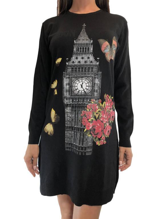 Женская туника с башней