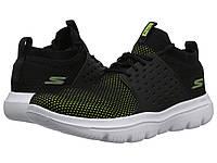 Кроссовки Кеды (Оригинал) SKECHERS Performance Go Walk Evolution Ultra Turbo  Black Lime 06abd528b23