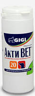 GIGI Активет препарат для улучшения функций суставов собак Acti Vet 100таб (глюкозамин, хондроитин, МСМ)