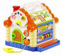 Развивающая музыкальная игрушка Теремок-сортер Joy Toy 9196