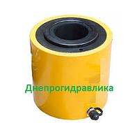 Домкрат гидравлический с полым штоком ДП20П50 (съемник сайлентблоков)