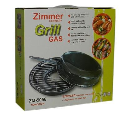 Сковорода ГРИЛЬ-ГАЗ Zimmer  (ZM-5056 )