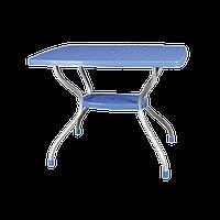 Стол Irak Plastik Vega 70x100 голубой