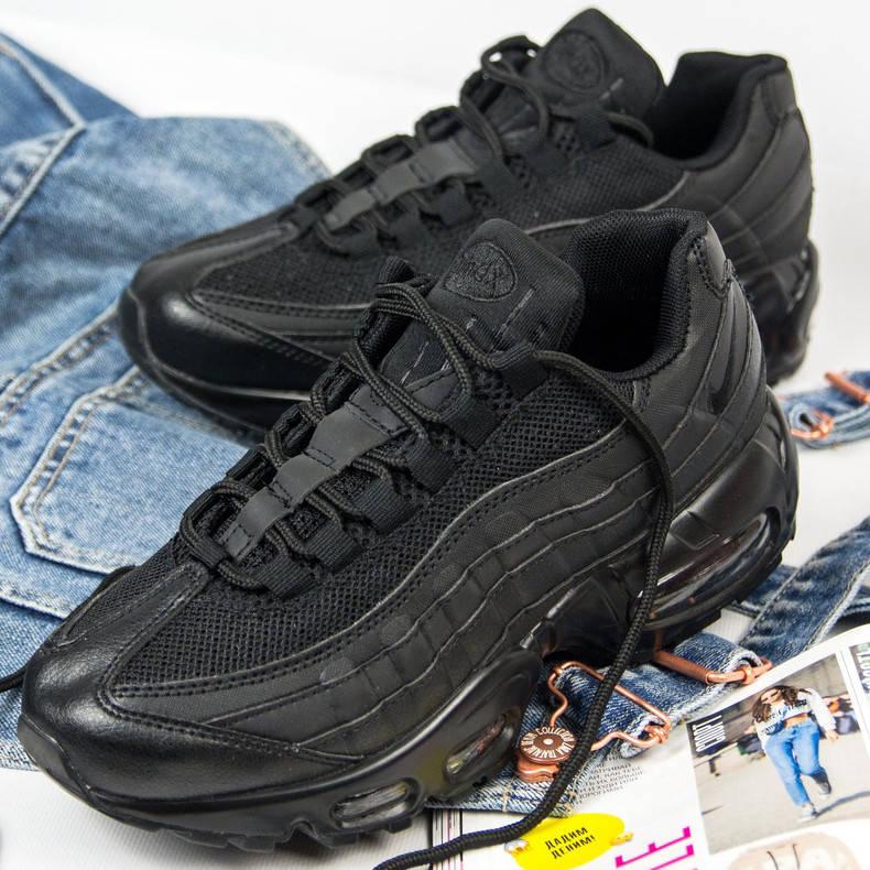 Nike Air Max 95 Full Black (реплика)