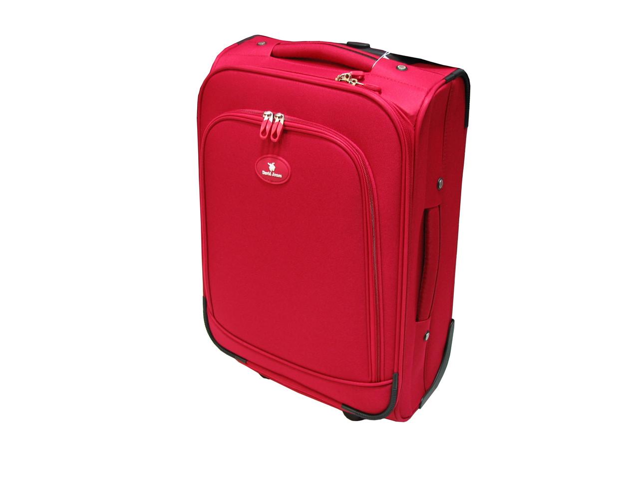 Легкий чемодан ручная кладь на 2-х колесах David Jones 2000-4 - Интернет e5706efa8ae