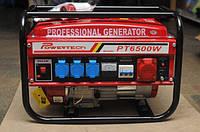 Генератор бензиновый 3-х фазный Powertech PT6500W 6,5 кв