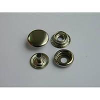 Кнопка №61 - 15 мм  никель