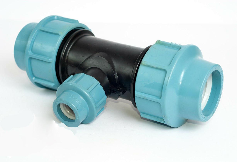 Трійник перехідний, затискний для труб 25-20-25* (ТПЗ).
