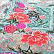 Женская легкая платье туника цветы , фото 2