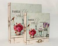 Книга-шкатулка Family 2 шт., фото 1